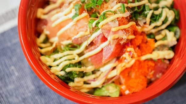 Surfside Lounge Poke Bowl 2