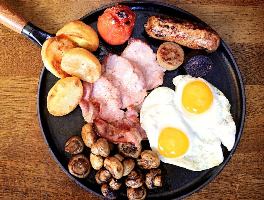 Full Irish Breakfast at Raglan Road Irish Pub and Restaurant at Disney Springs