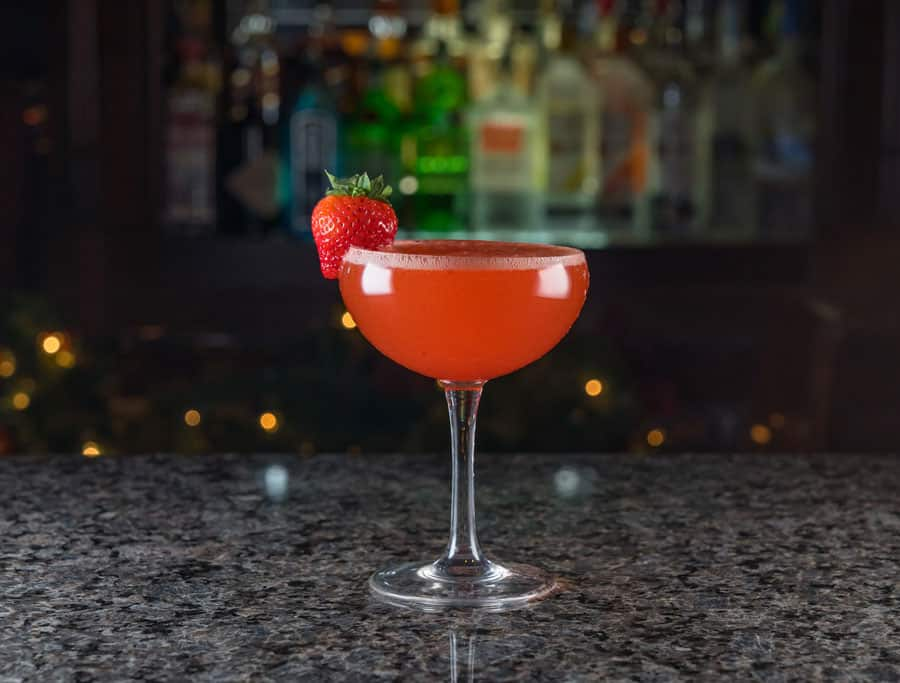 Strawberry Fields Mimosa at Raglan Road Irish Pub and Restaurant at Disney Springs