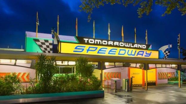 Tomorrowland Speedway at Magic Kingdom Park