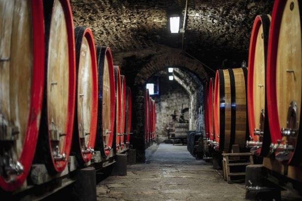 18th-Century Wine Cellar