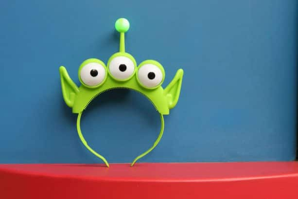Alien headband from Toy Story Land at Disney's Hollywood Studios