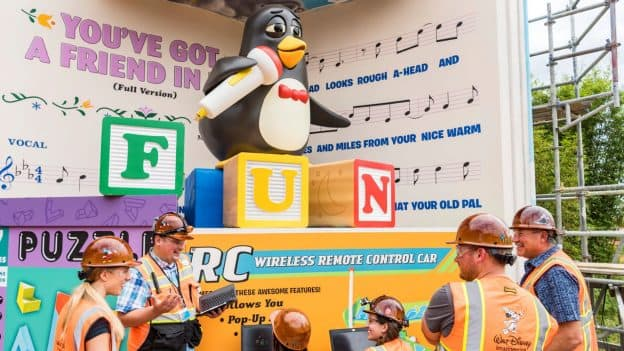 All In The Details Imagineers Bring Wheezy To Life At Toy Story
