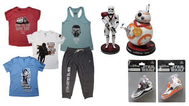New tank tops, sweatpants, and Star Wars toys, Disney 2018 Star Wars Half Marathon