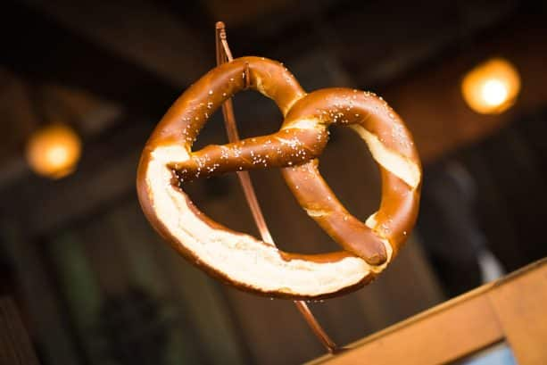 Pretzel Royale at Prince Eric's Village Market at Magic Kingdom Park