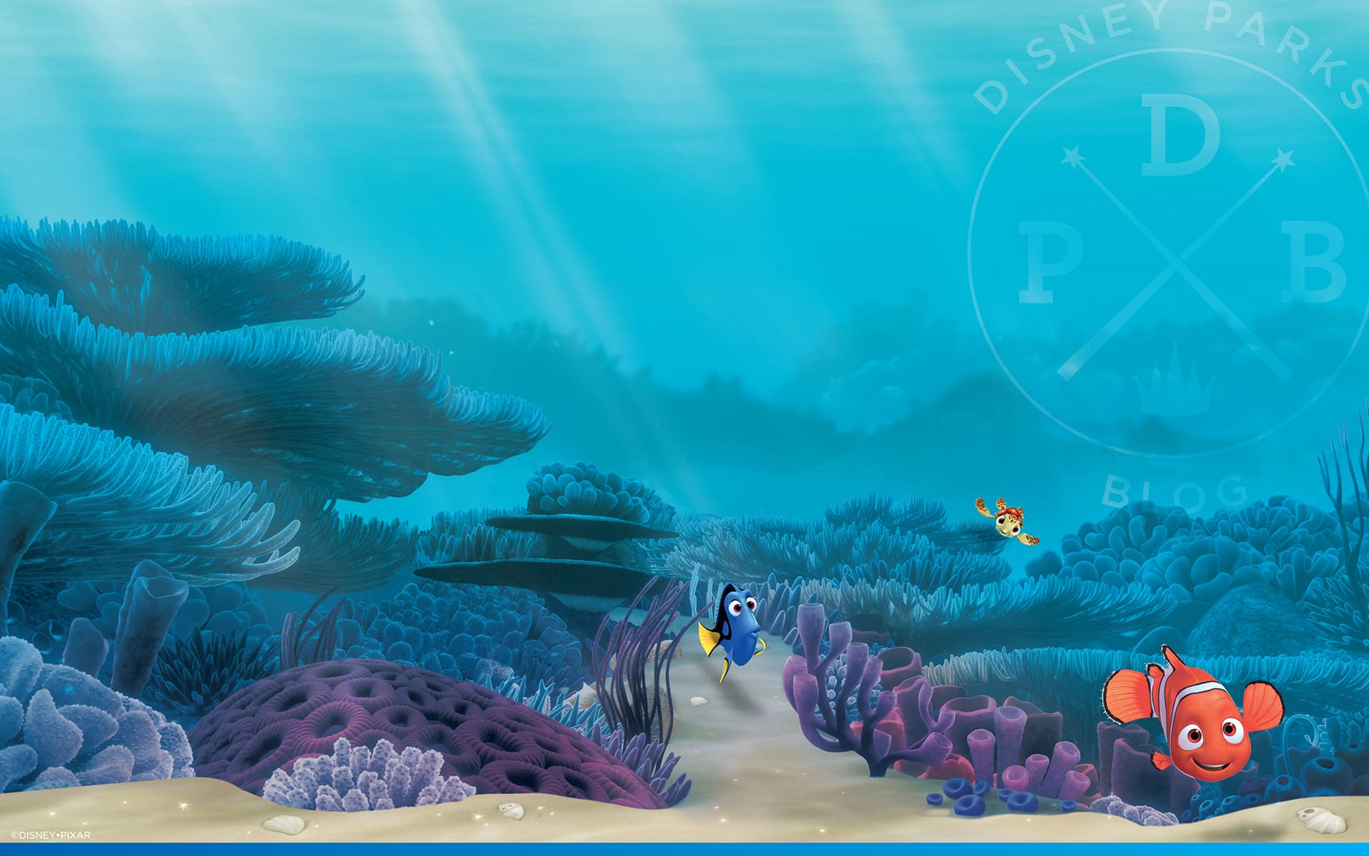 15th Anniversary of 'Finding Nemo'Wallpaper