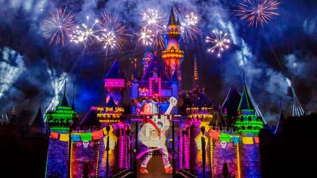 Together Forever - A Pixar Nighttime Spectacular' at Disneyland Park