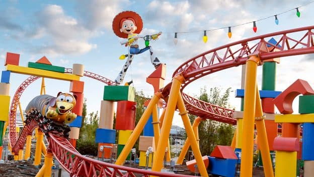 Slinky Dog Dash, Toy Story Land, Walt Disney World Resort