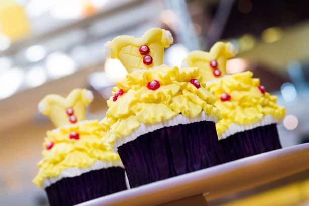 Belle Cupcake at Sunshine Seasons at Epcot