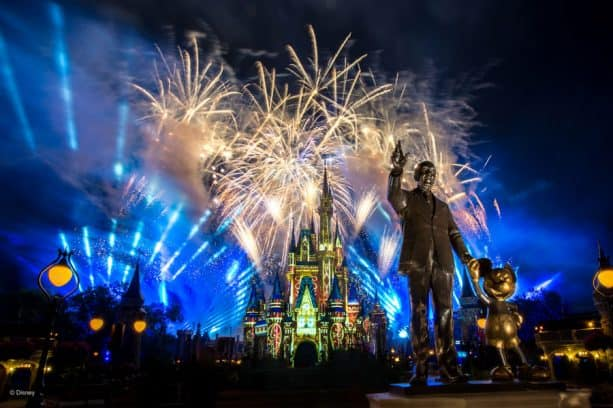 Happily Ever After Fireworks at Magic Kingdom Park