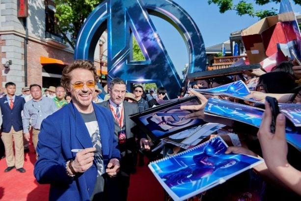 Robert Downey Jr. at Shanghai Disney Resort