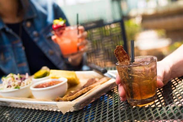 Smoked Brisket and Hurry Sundown Old Fashioned at House of Blues® Restaurant & Bar for Discover Bourbon at Disney Springs
