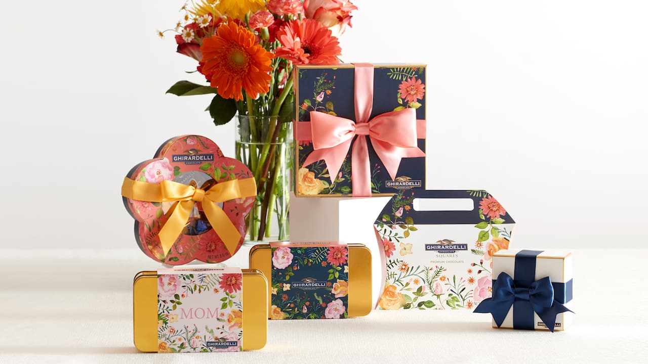 Mother's Day Gifts from from Ghirardelli Chocolate Shop at Disney Springs