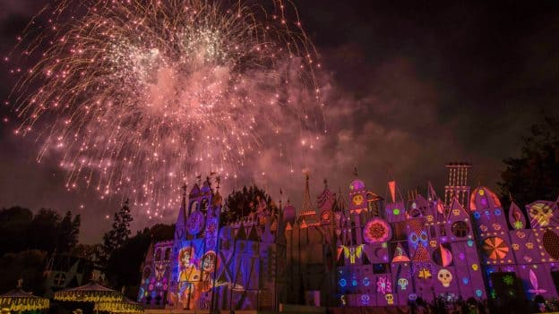 Pixar Fest 'Together Forever - A Pixar Nighttime Spectacular' Fireworks