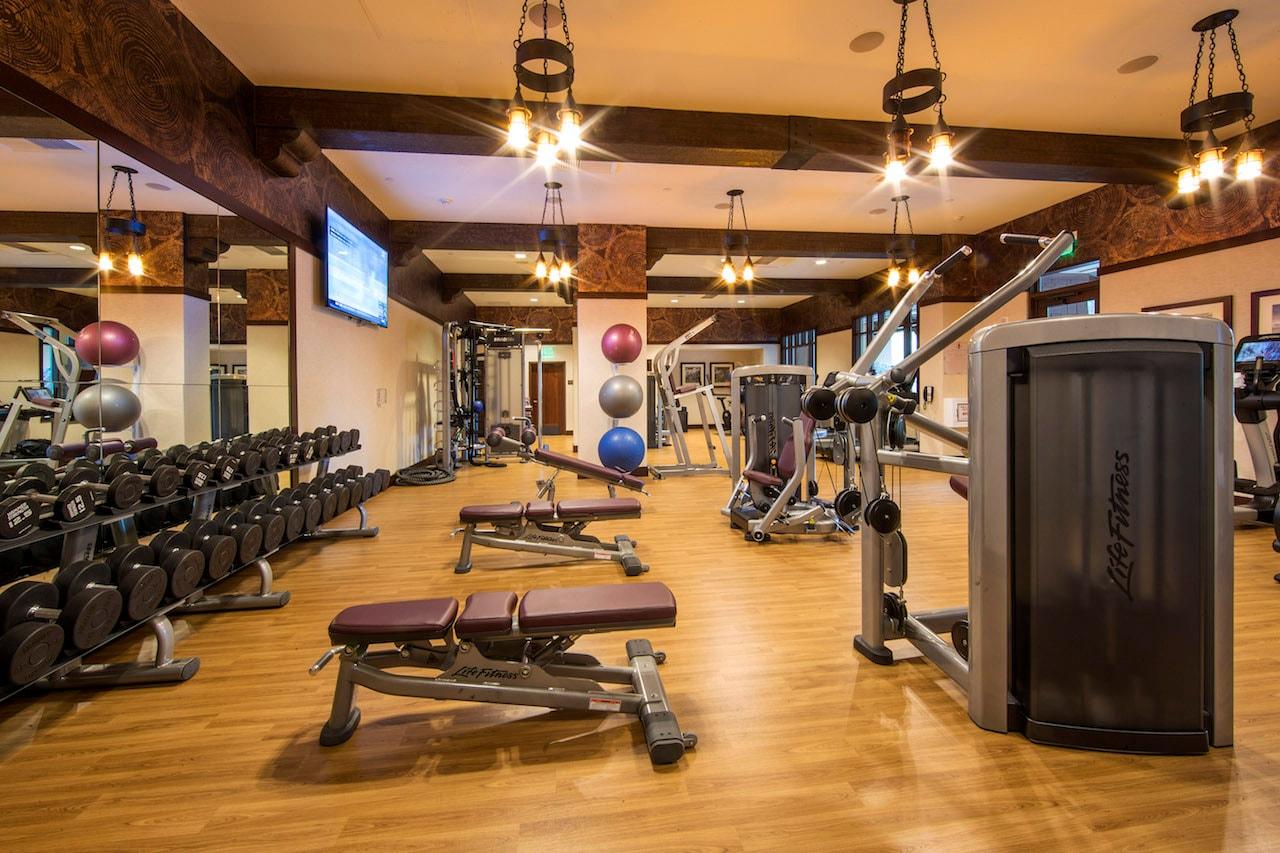 Eureka Fitness Center at Disney's Grand Californian Hotel