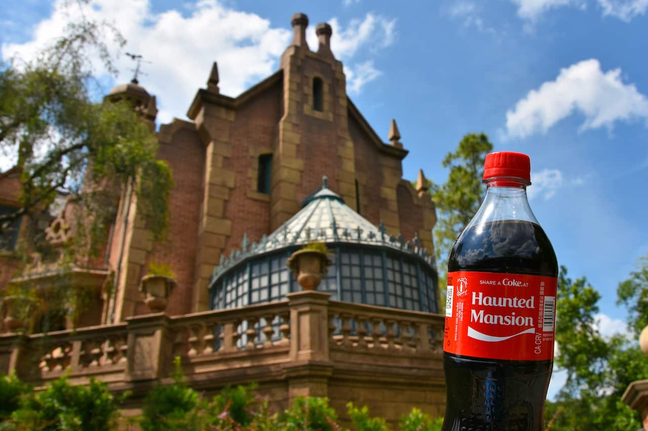 Share a Coke at Haunted Mansion Disney Bottle at Disney Parks