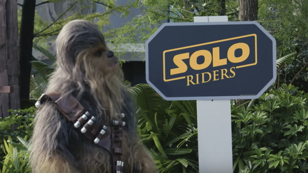 Chewbacca searches for Riders at Star Tours – The Adventures Continue at the Walt Disney World Resort