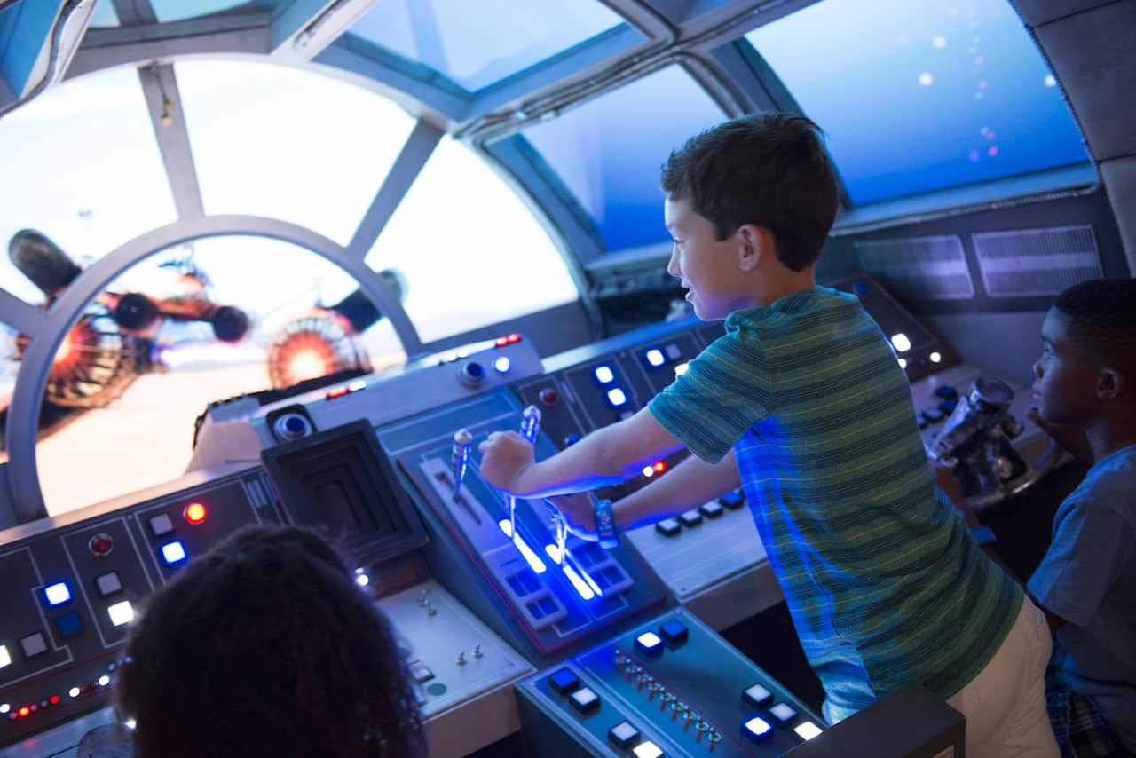 Star Wars: Millennium Falcon on the Disney Dream