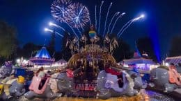 Dumbo the Flying Elephant at Disneyland Park