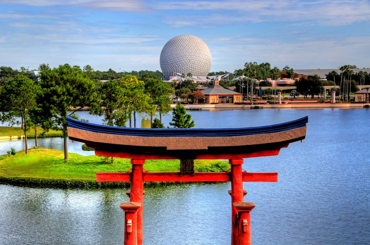Japan Pavilion at Epcot at Walt Disney World Resort