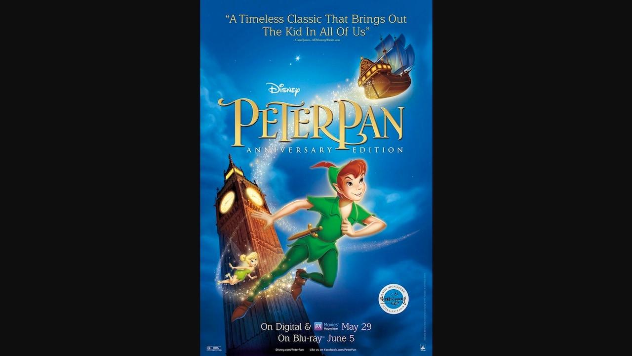 Celebrate Disneys Peter Pan 65th Anniversary Edition Release