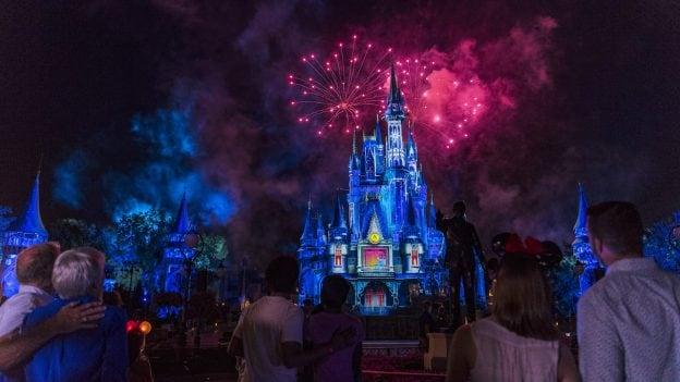 Enjoy Fireworks Nighttime Spectaculars Now At The Walt Disney