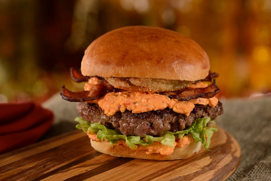 The Southern Burger, available at D-Luxe Burger