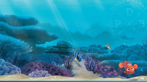 "Disney Parks Blog ""Finding Nemo"" Wallpaper"