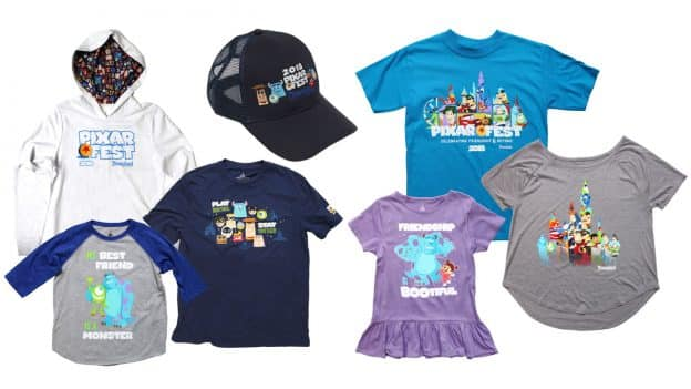 Pixar Fest Merchandise at the Disneyland Resort