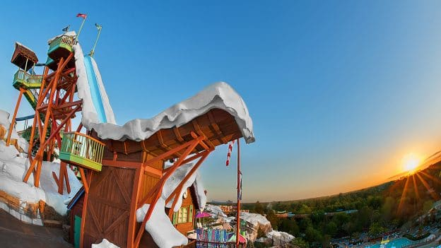 Summit Plummet At Disney S Blizzard Beach Water Park Walt World Resort