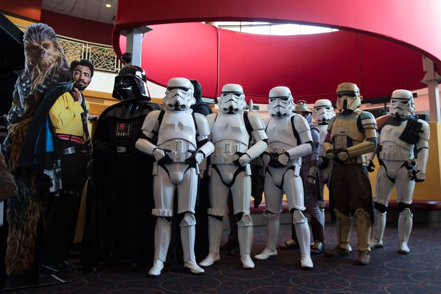 Disney Parks Blog 'Solo: A Star Wars Story' Meet-up - Appearance by the 501st Legion