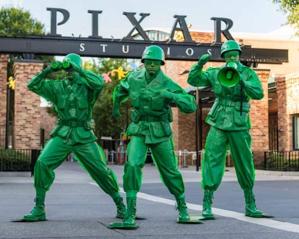 Green Army Men at Disney's Hollywood Studios