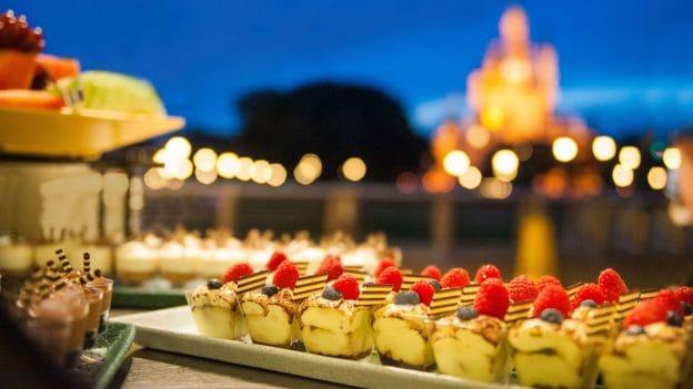 Fireworks Dessert Party at Tomorrowland Terrace Restaurant at Magic Kingdom Park
