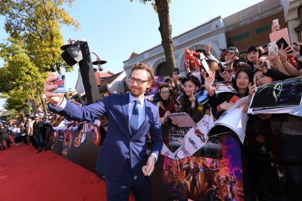 Tom Hiddleston at Shanghai Disney Resort