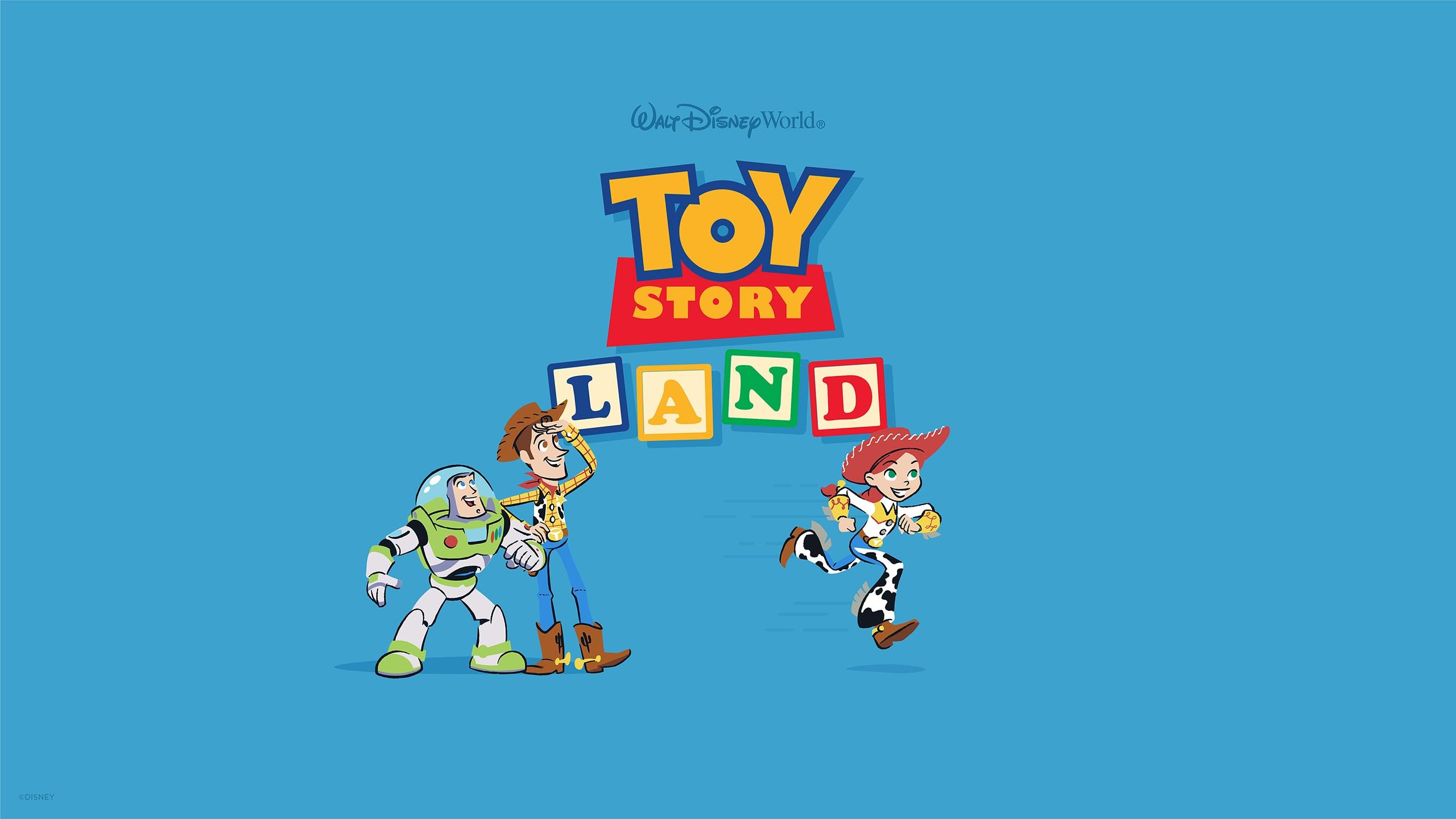 Toy story land wallpaper desktop disney parks blog - Toy story wallpaper ...