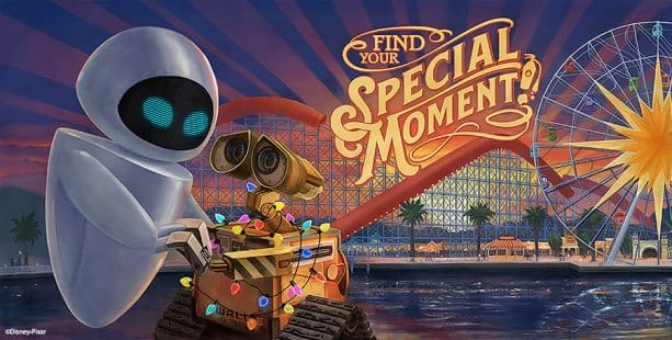 Pixar-Themed Billboards at Pixar Pier