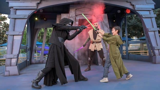 Disney PhotoPass Service During Jedi Training: Trials of the Temple