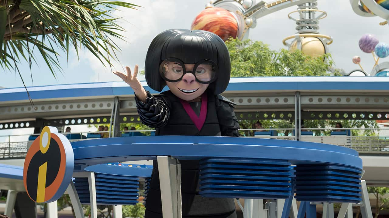 The Incredible Tomorrowland Expo Celebrates Disney Pixar S Incredibles 2 And All Things Super Disney Parks Blog