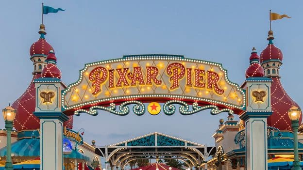 Pixar Pier is now open at Disney California Adventure park