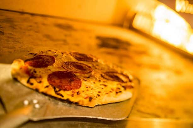 Wood-Fired Pizza at Terralina Crafted Italian at Disney Springs