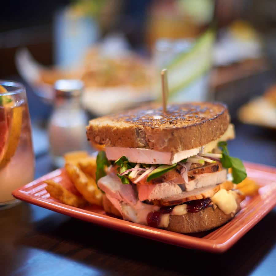 Turkey and Brie Sandwich at Rix Sports Bar & Grill at Disney's Coronado Resort