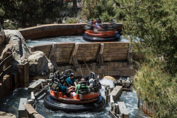 Grizzly River Run at Disney California Adventure Park