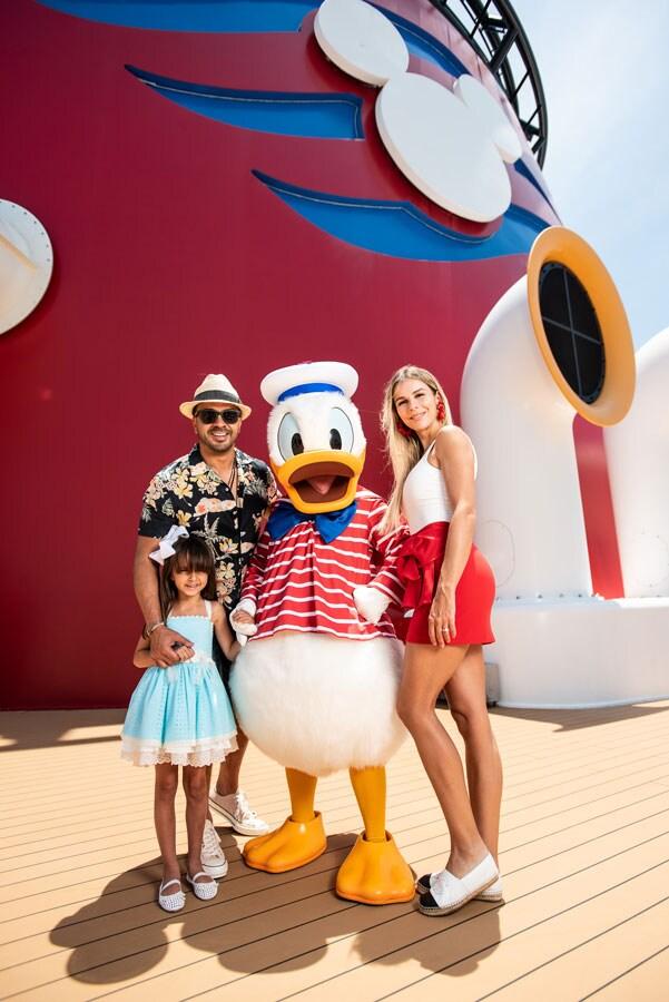 Luis Fonsi on the Disney Dream