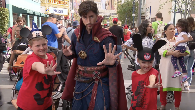 Doctor Strange at Disney California Adventure Park