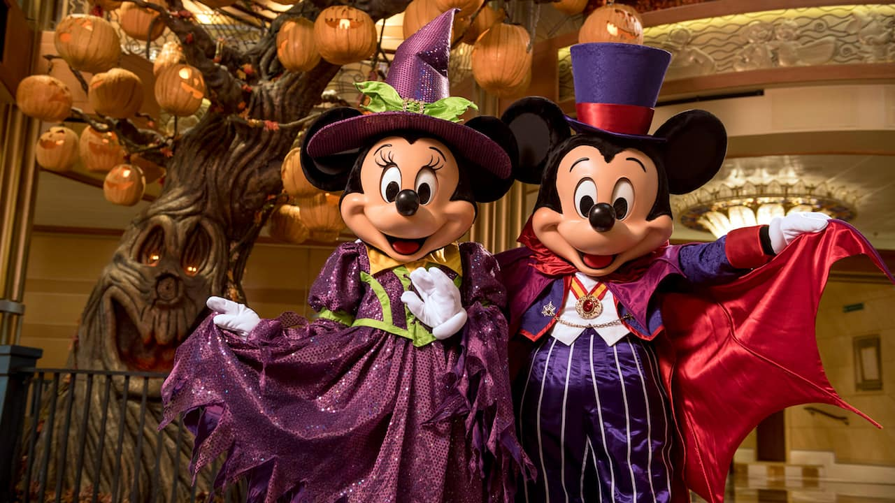Disney Halloween On The High Seas 2020 Halloween on the High Seas Cruises Haunting Disney Ships this Fall