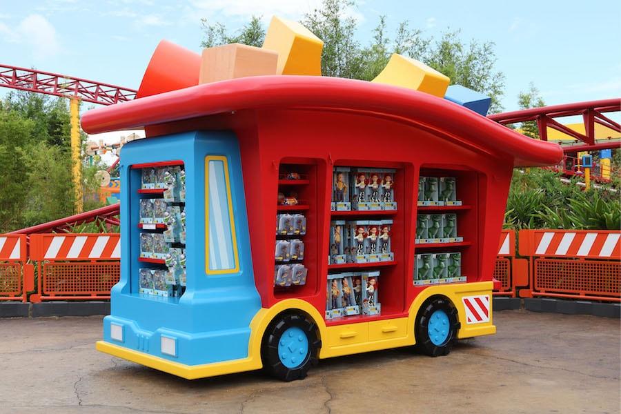 Toy Story Land Merchandise Kisok