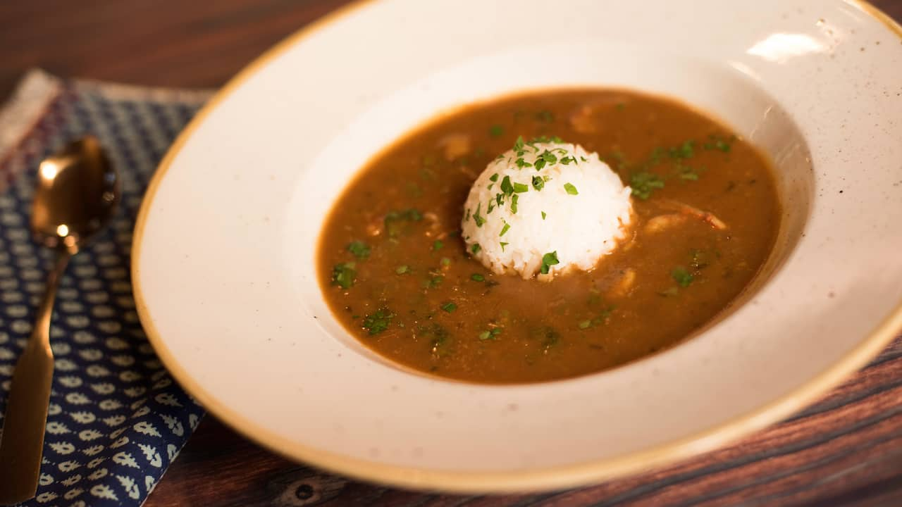 Crawfish Étouffée at Scat Cat's Club at Disney's Port Orleans Resort – French Quarter