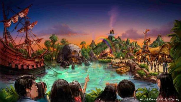 Neverland at Tokyo DisneySea