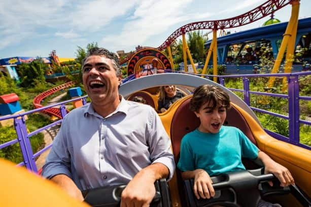 Slinky Dog Dash in Toy Story Land at Disney's Hollywood Stuidos