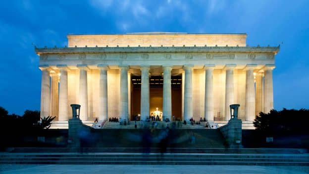 : Lincoln Memorial on Adventures by Disney Philadelphia and Washington D.C. Vacation